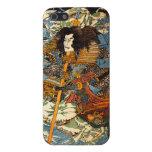Caso del iPhone 5 del samurai de Kuniyoshi iPhone 5 Funda