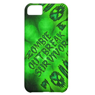 Caso del iphone 5 del superviviente del brote del  funda para iPhone 5C