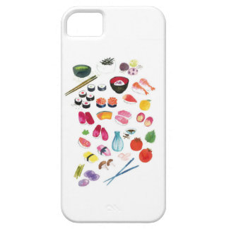 Caso del iphone 5 del sushi funda para iPhone 5 barely there