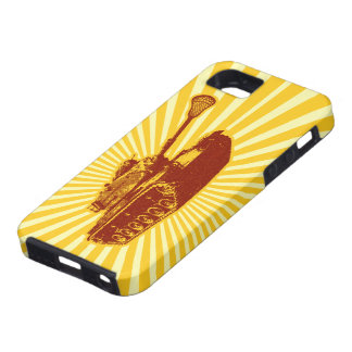 Caso del iPhone 5 del tanque de LaCrosse iPhone 5 Funda