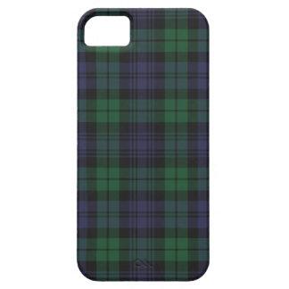 Caso del iPhone 5 del tartán de Campbell del clan iPhone 5 Fundas