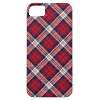 Caso del iPhone 5 del tartán de MacDonald iPhone 5 Cobertura
