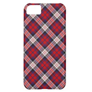 Caso del iPhone 5 del tartán de MacDonald