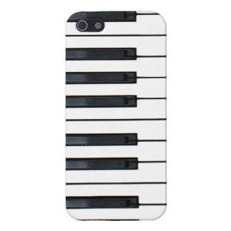 Caso del iPhone 5 del teclado de piano iPhone 5 Protectores