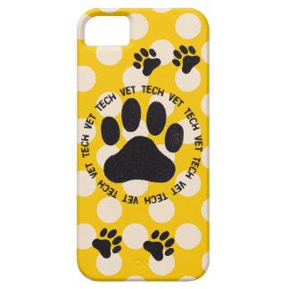 Caso del iPhone 5 del técnico del veterinario iPhone 5 Fundas