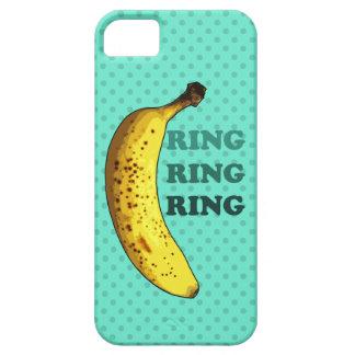 Caso del iPhone 5 del teléfono del plátano iPhone 5 Case-Mate Cobertura