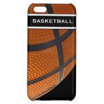 Caso del iPhone 5 del tema del baloncesto