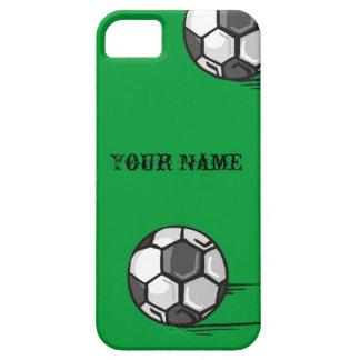 Caso del iPhone 5 del tema del fútbol iPhone 5 Case-Mate Funda