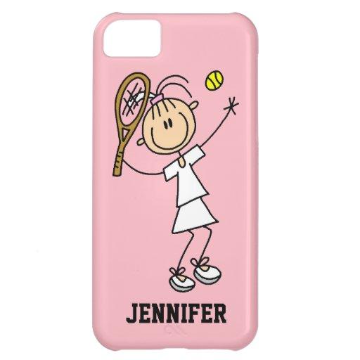 Caso del iPhone 5 del tenis de las mujeres de enca