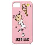 Caso del iPhone 5 del tenis de las mujeres de enca iPhone 5 Cobertura