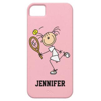 Caso del iPhone 5 del tenis de las mujeres de enca iPhone 5 Coberturas