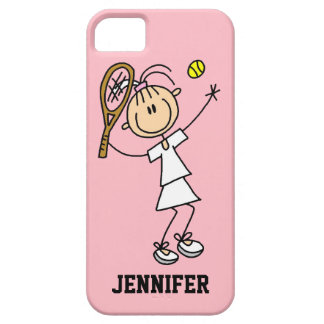 Caso del iPhone 5 del tenis de las mujeres de enca iPhone 5 Cárcasa