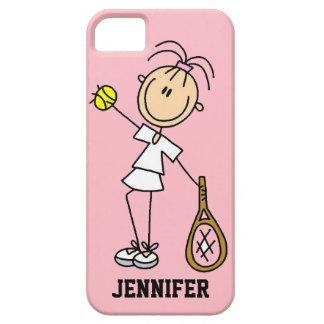 Caso del iPhone 5 del tenis de las mujeres de iPhone 5 Carcasa