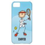 Caso del iPhone 5 del tenis de los hombres de enca