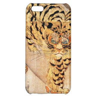 Caso del iPhone 5 del tigre de Kuniyoshi