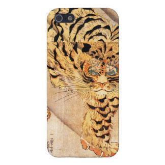 Caso del iPhone 5 del tigre de Kuniyoshi iPhone 5 Protector