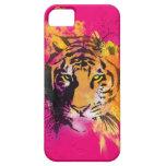 Caso del iPhone 5 del tigre de la pintada iPhone 5 Case-Mate Cárcasas