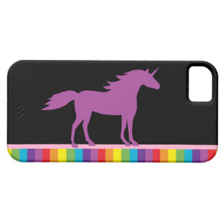 Caso del iPhone 5 del unicornio y del arco iris iPhone 5 Case-Mate Cobertura