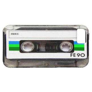 Caso del iPhone 5 del verde de la cinta de casete iPhone 5 Case-Mate Protectores