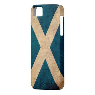 Caso del iPhone 5 del vintage de Escocia iPhone 5 Case-Mate Carcasa