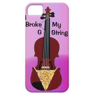 Caso del iPhone 5 del violinista iPhone 5 Funda