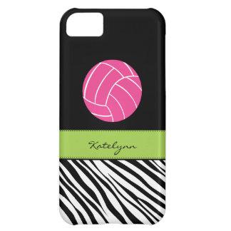 Caso del iPhone 5 del voleibol del estampado de ze