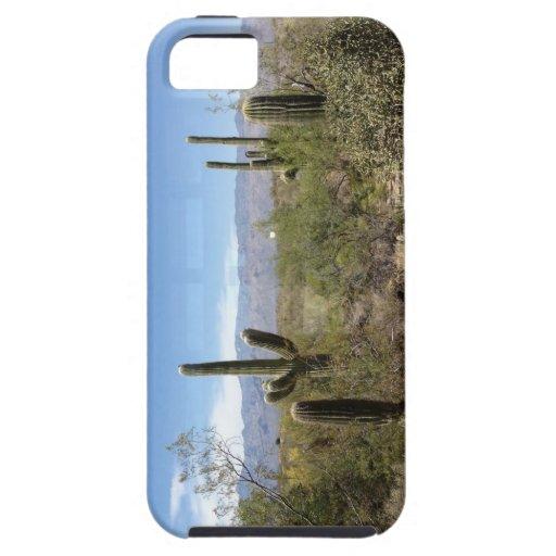 caso del iPhone 5 - desierto del Saguaro Funda Para iPhone SE/5/5s