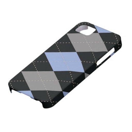 caso del iPhone 5 - diamante Argyle - pizarra iPhone 5 Funda