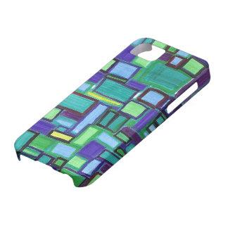 caso del iphone 5, diseño modernista brillante iPhone 5 funda
