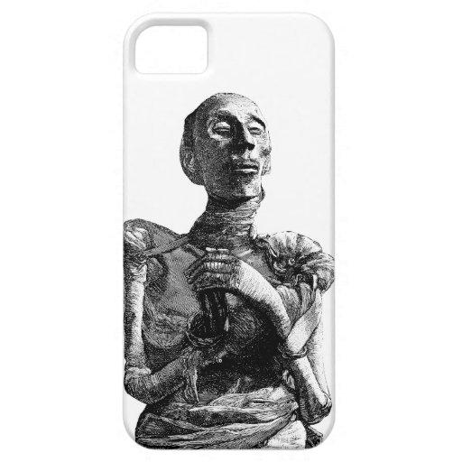 caso del iPhone 5, ejemplo retro de la momia iPhone 5 Coberturas