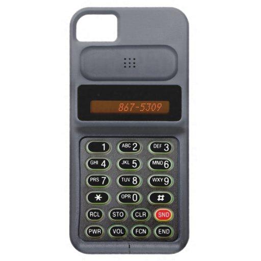 caso del iPhone 5 en el estilo de un mediados de t iPhone 5 Cárcasa