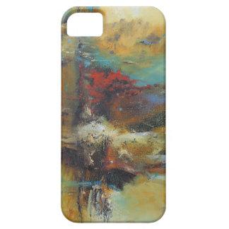 """caso del iPhone 5, energía 1"""" del aceite abstracto iPhone 5 Coberturas"""