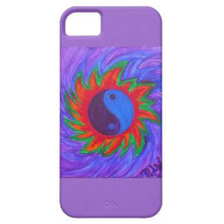 caso del iPhone 5 - energía de Yin y de Yang iPhone 5 Case-Mate Carcasas
