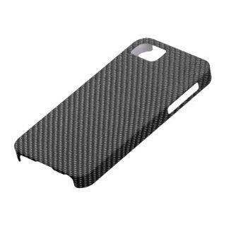 caso del iPhone 5 - fibra de carbono - negro metál iPhone 5 Case-Mate Cobertura