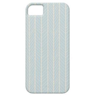caso del iPhone 5 - galón suavemente azul y iPhone 5 Carcasa