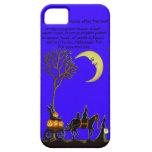 caso del iphone 5, Halloween, brujas, negro, gato, iPhone 5 Case-Mate Protectores