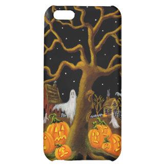caso del iphone 5, Halloween, cementerio, piedras