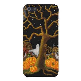 caso del iphone 5, Halloween, cementerio, piedras  iPhone 5 Cárcasas