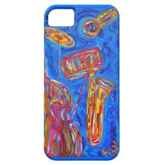 caso del iPhone 5 - jazz azul fresco iPhone 5 Case-Mate Coberturas