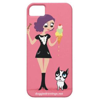 caso del iPhone 5 La boogie ama a Beasley Todo-P iPhone 5 Fundas