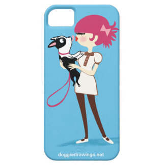 "caso del iPhone 5: La boogie ama a ""Boris Todo-Pod iPhone 5 Case-Mate Carcasa"