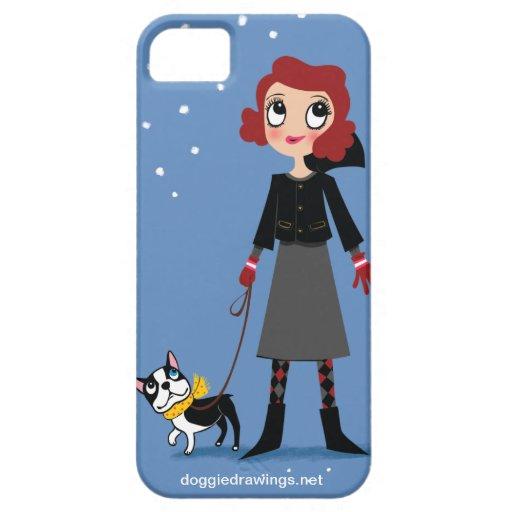 """caso del iPhone 5: La boogie ama a la """"baronesa Funda Para iPhone SE/5/5s"""