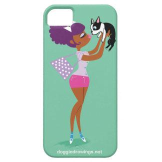 caso del iPhone 5 La boogie ama Mazeppa Todo-Pod iPhone 5 Cárcasa