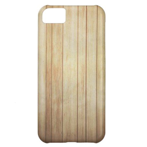 caso del iphone 5 - madera ligera