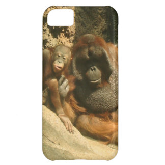 caso del iPhone 5 - orangutanes Funda Para iPhone 5C
