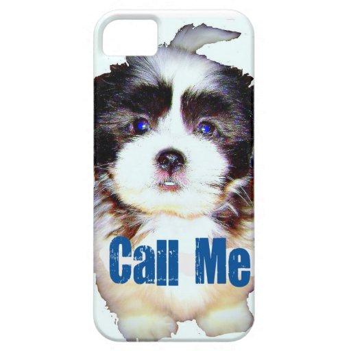 ¡caso del iphone 5 para el amante del perro! iPhone 5 carcasa
