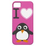 caso del iPhone 5 para los amantes del pingüino iPhone 5 Case-Mate Protector