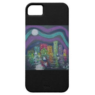 caso del iPhone 5 - poca ciudad por la bahía iPhone 5 Carcasa