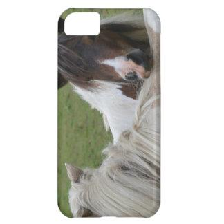 caso del iPhone 5 que muestra los caballos que abr Funda Para iPhone 5C