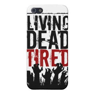 caso del iPhone 5 que vive absolutamente cansado iPhone 5 Fundas